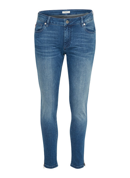 Denim hunter 10701141 Celina zip custom 38510 blue wash