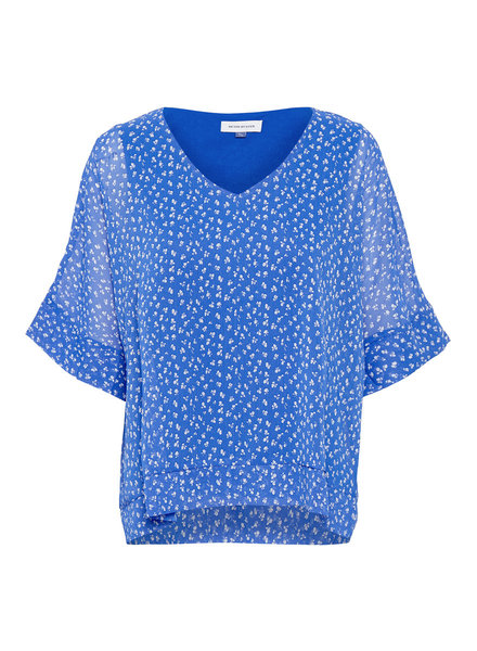Denim hunter 10702288 DHLou Blouse 38071 dazzling blue