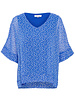 Denim hunter 10702288 DHLou Blouse 38071 dazzling blue