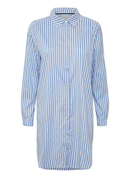 Denim hunter 10702162 DHEtta shirt dress 38067 wedgewood whit