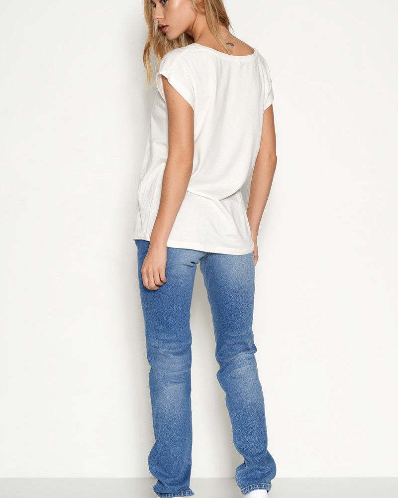 Denim hunter 10702156 DHJoy t-shirt 36024 whisper white