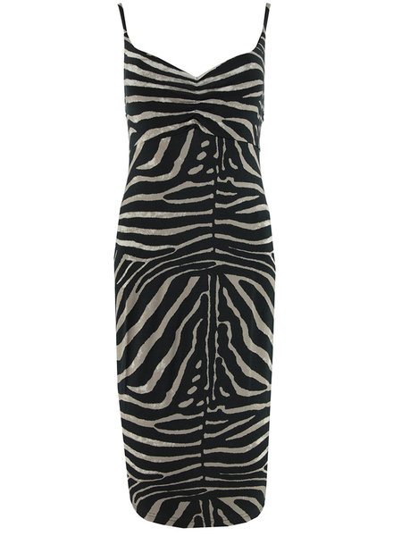 GEISHA 97362-60 Spaghetti dress zebra