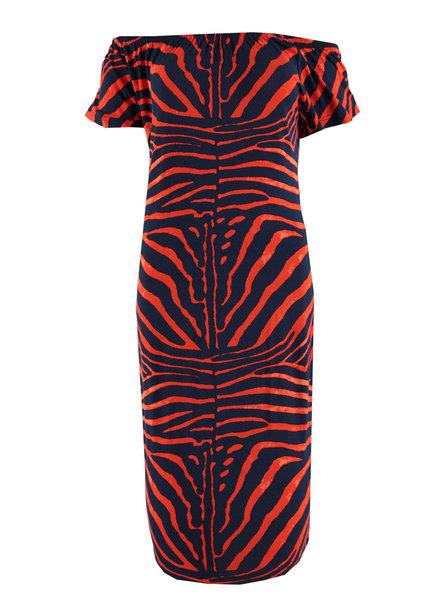GEISHA 97361-60 Dress blue/red