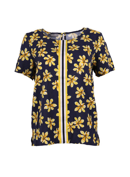 GEISHA 93132-20 top 000675 navy/yellow