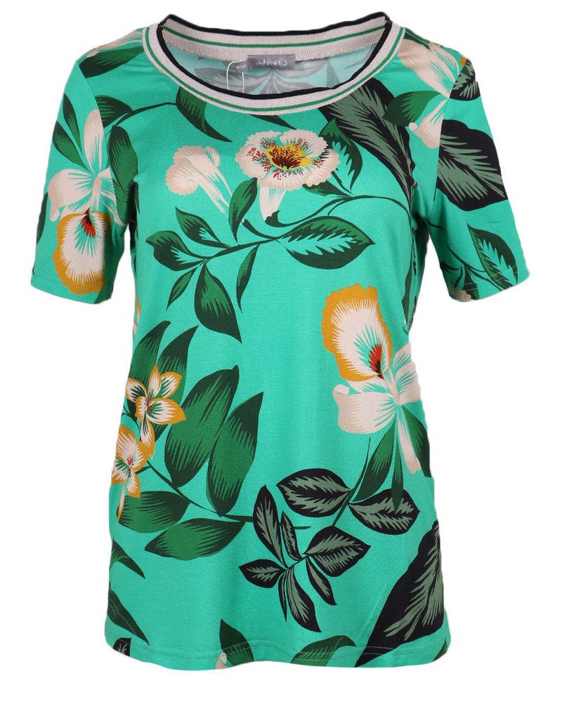 GEISHA 93167-20 top 000530 green