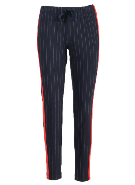 GEISHA 91112-21 pants 000675 navy/red
