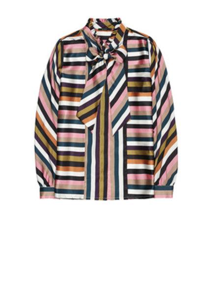 10 FEET 840046 1200-Multi colour multi colour striped blouse
