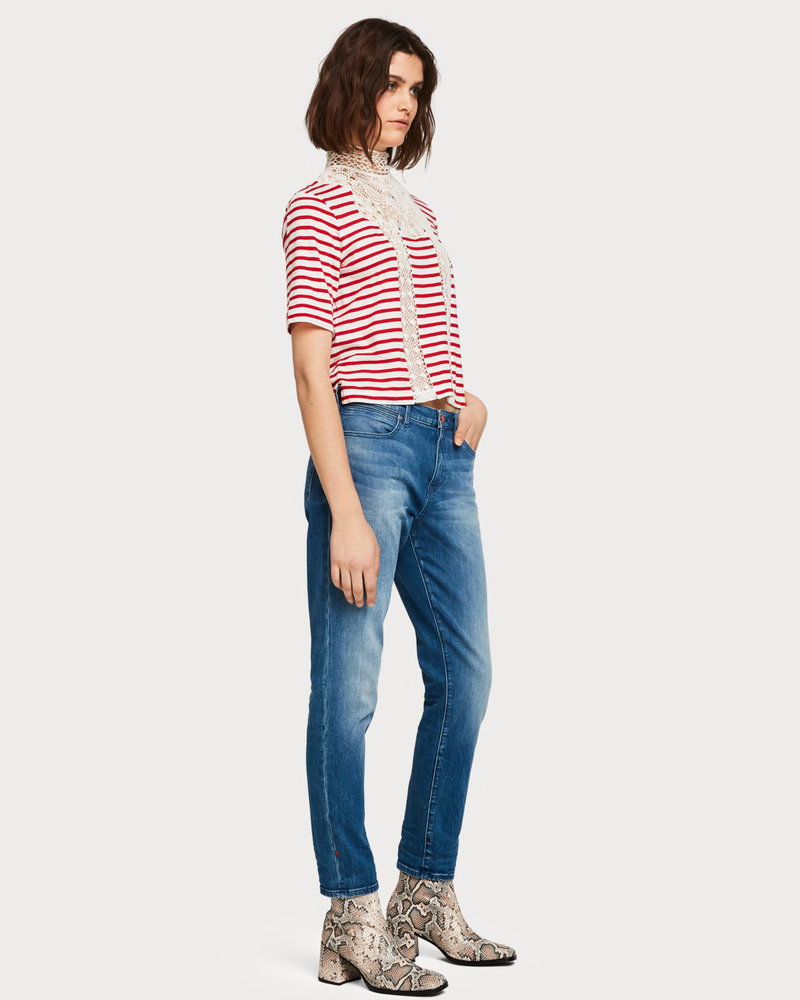 Scotch&Soda 150633 Petit ami thythm and blauw