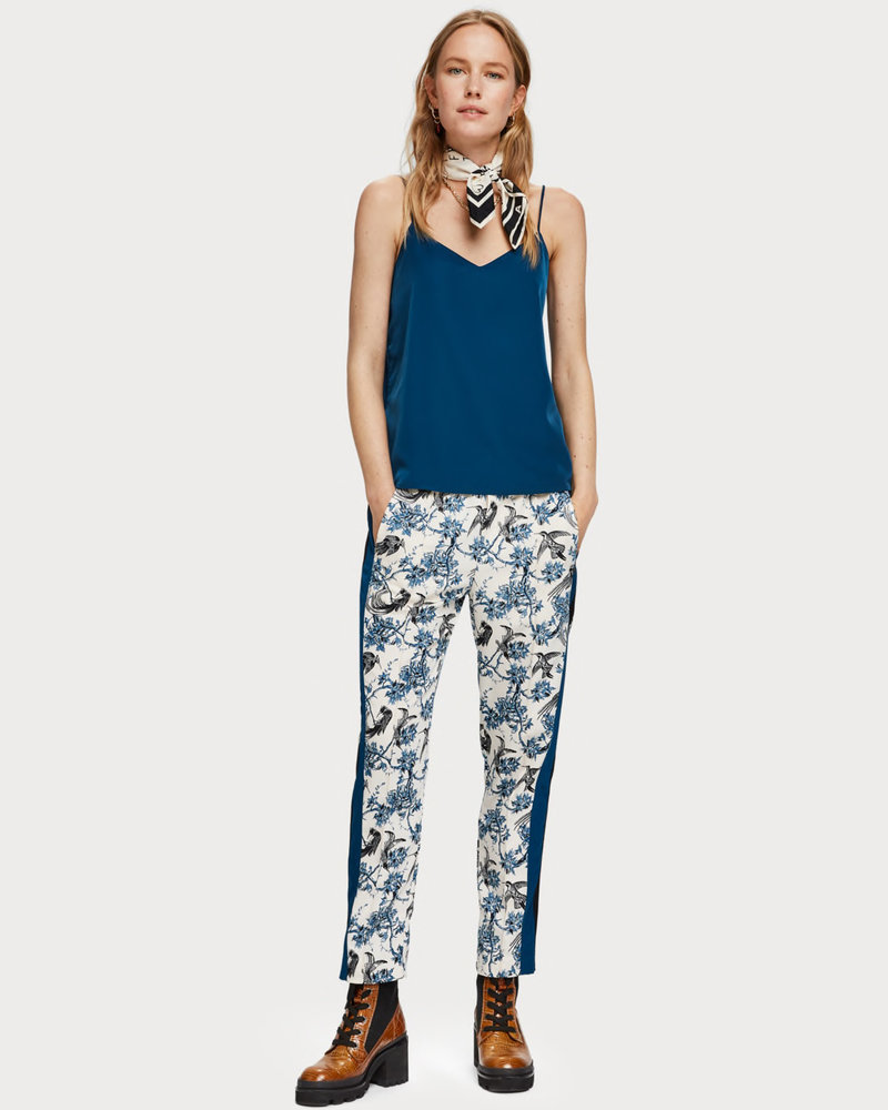 SCOTCH & SODA 153076 3227 Jersey and woven mixed tank top