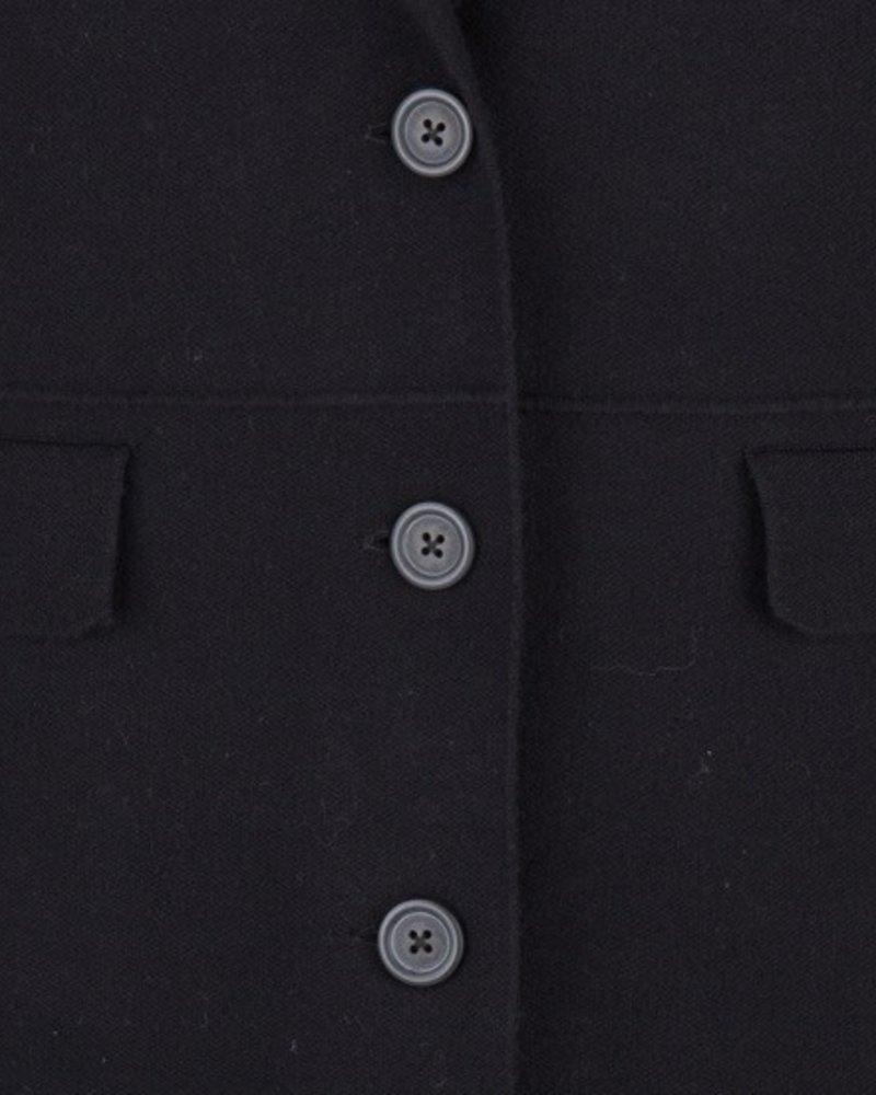 ESQUALO F19.07530 Cardigan long blazer Black