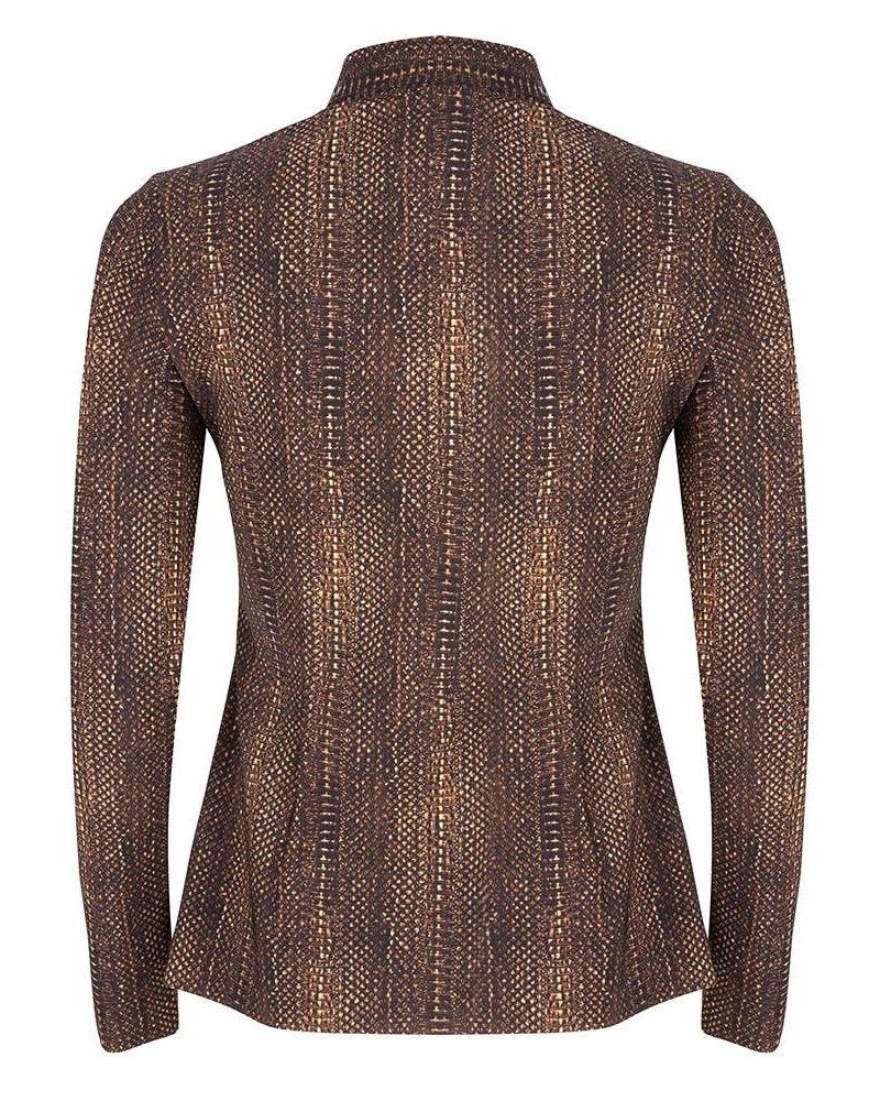 JANE LUSHKA US719AW10 Blouse animal brown