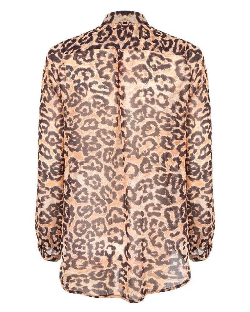 JANE LUSHKA GT719AW10P Blouse animal tiger