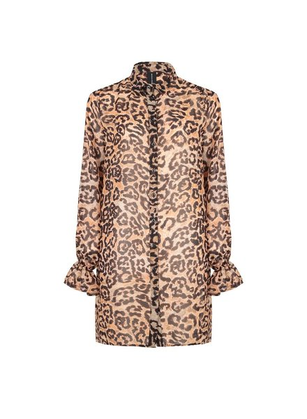 JANE LUSHKA GT919AW135 Dress shirt animal tiger