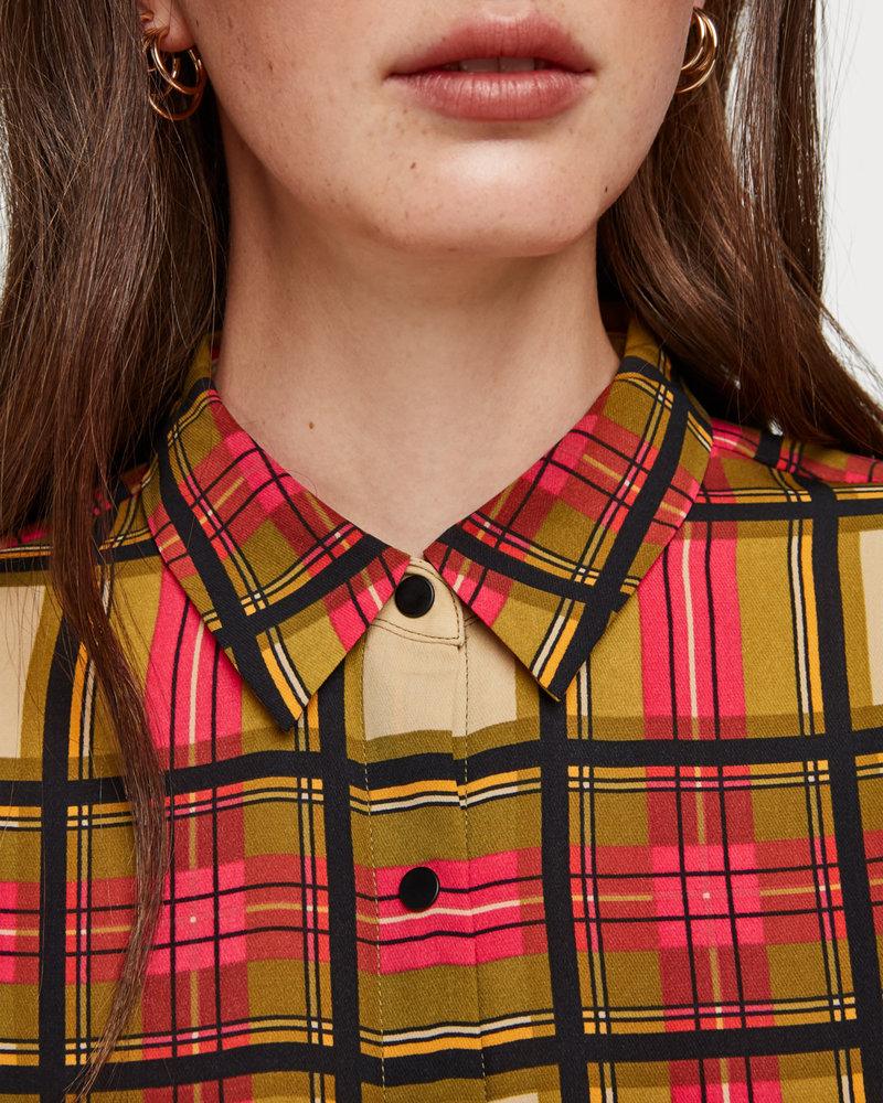 SCOTCH & SODA 152461 61 Regular drapey fit shirt in allover