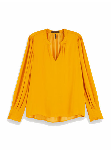 SCOTCH & SODA 152497 1225 V-neck top with ruffle details