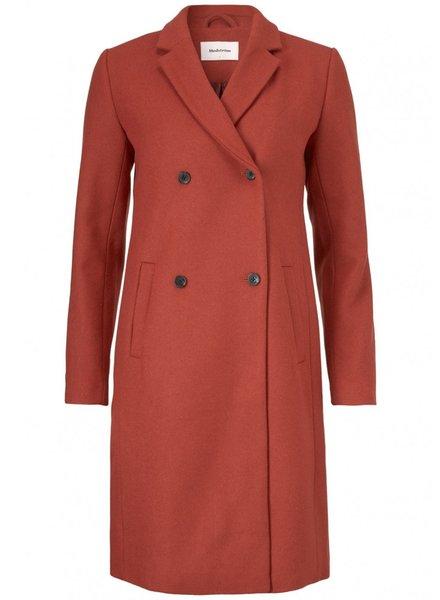 MODSTRÖM 51830 01021 Odelia coat Brick Red