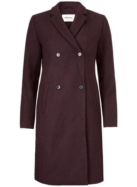 MODSTRÖM 51830 01020 Odelia coat Dark Ruby