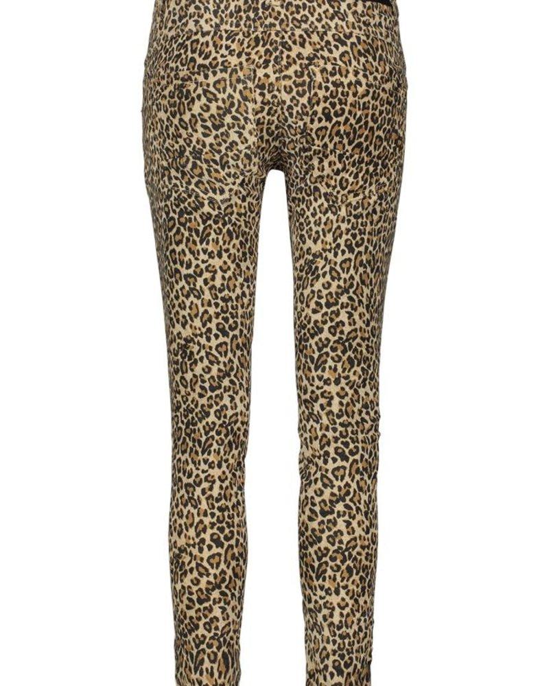 BIANCO 1219437 Peach Blossom LEO Boyfriend Leopard Print Beige #1