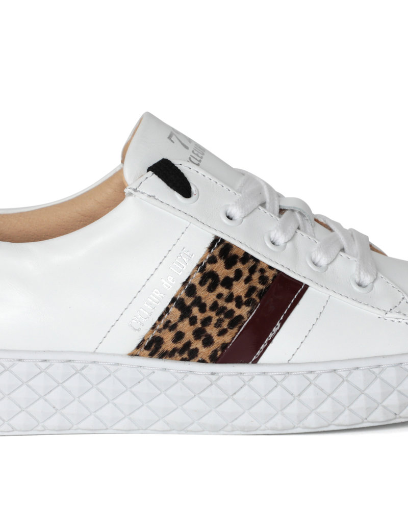 CYCLEUR DE LUXE CDLW192212 WHITE/LEOPARD PICA