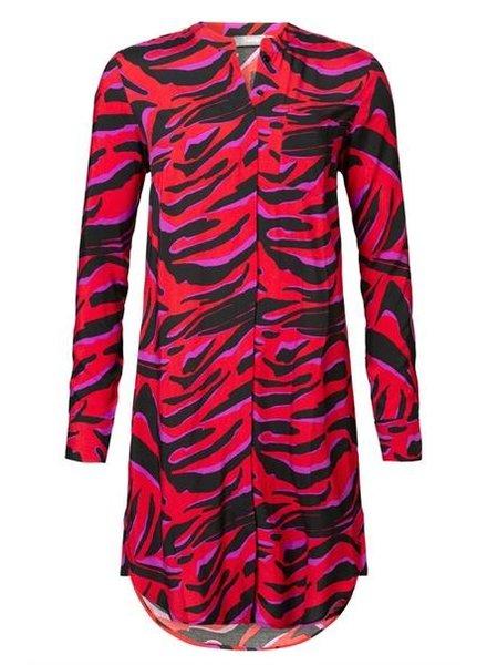 GEISHA 97764-20 Dress AOP red/pink combi