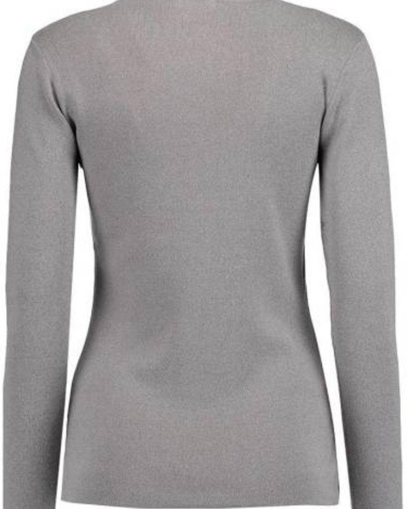 GEISHA 94521-10 Pullover turtle neck grey melange