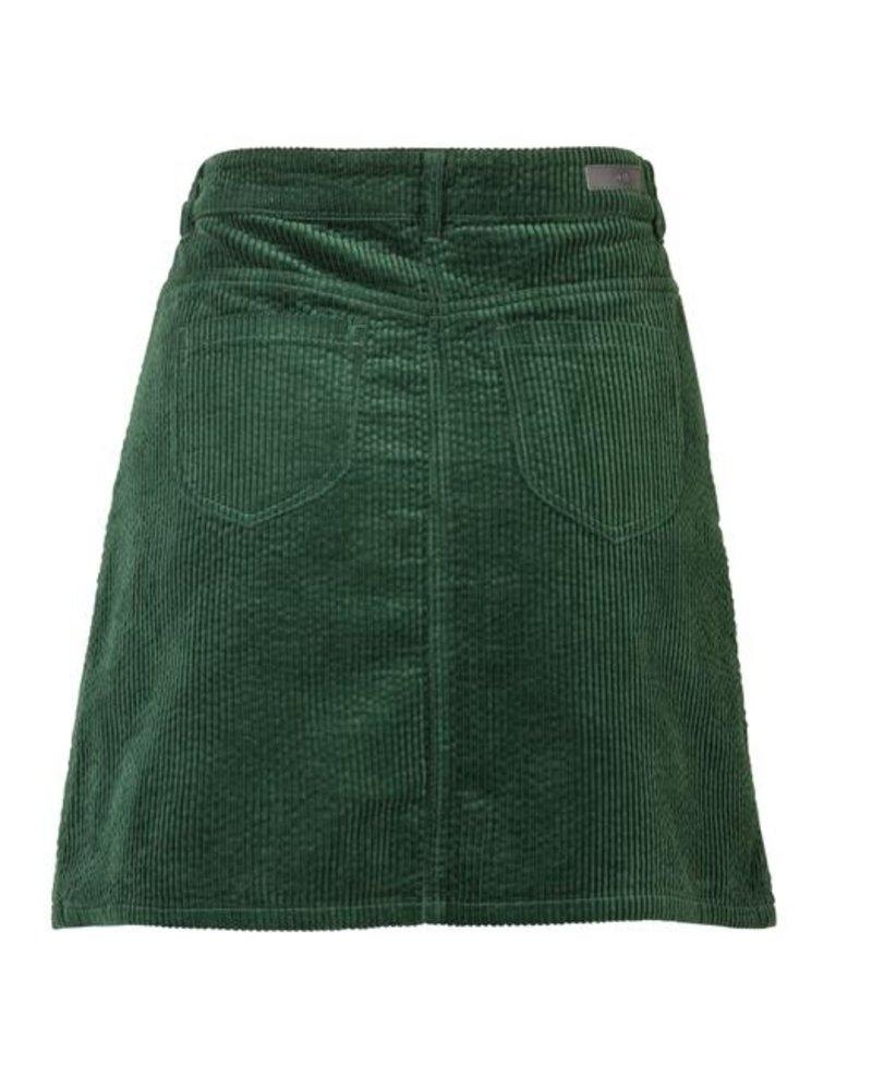 GEISHA 96505-10 Short skirt corduroy moss