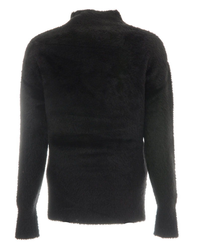 GEISHA 94536-11 Pullover hairy black