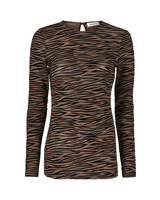 MODSTRÖM 54640 VEGAS TOP BROWN ZEBRA