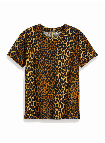 SCOTCH & SODA 153072 22 Printed tee with badge