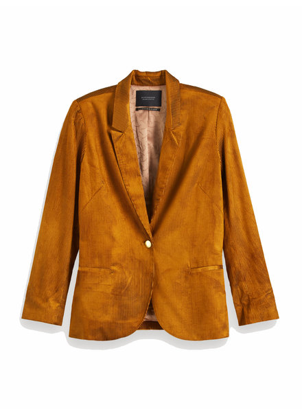 SCOTCH & SODA 152739 76 Shiny corduroy blazer