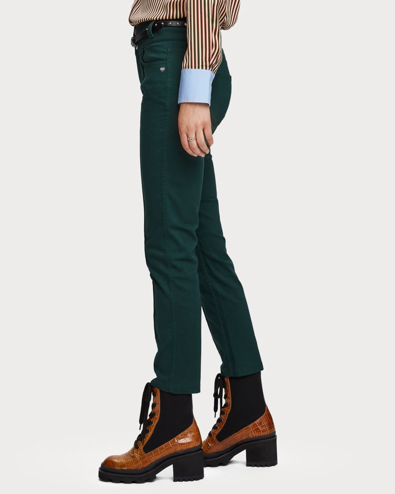 SCOTCH & SODA 152622 2447 High rise skinny pants with wide waistband