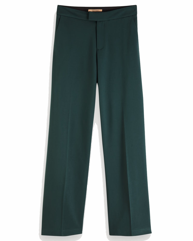 SCOTCH & SODA 152648 0118 Wide leg pants in sweat quality