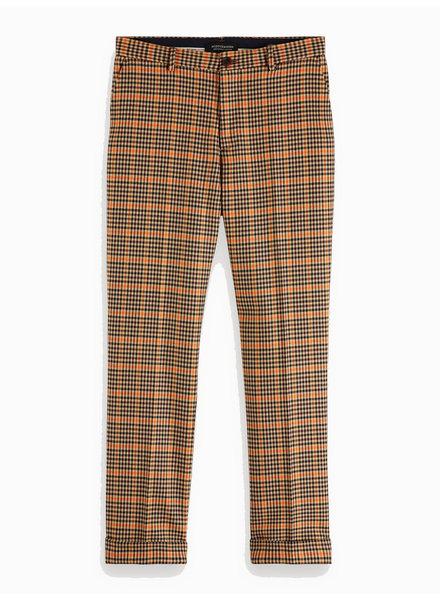 Scotch&Soda 152086 0218 Seasonal fit- chíc gentlemans chino in yarn-dyed pattern