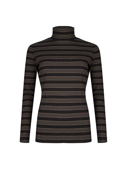 ESQUALO W19.30709 TOP STRIPED PRINT