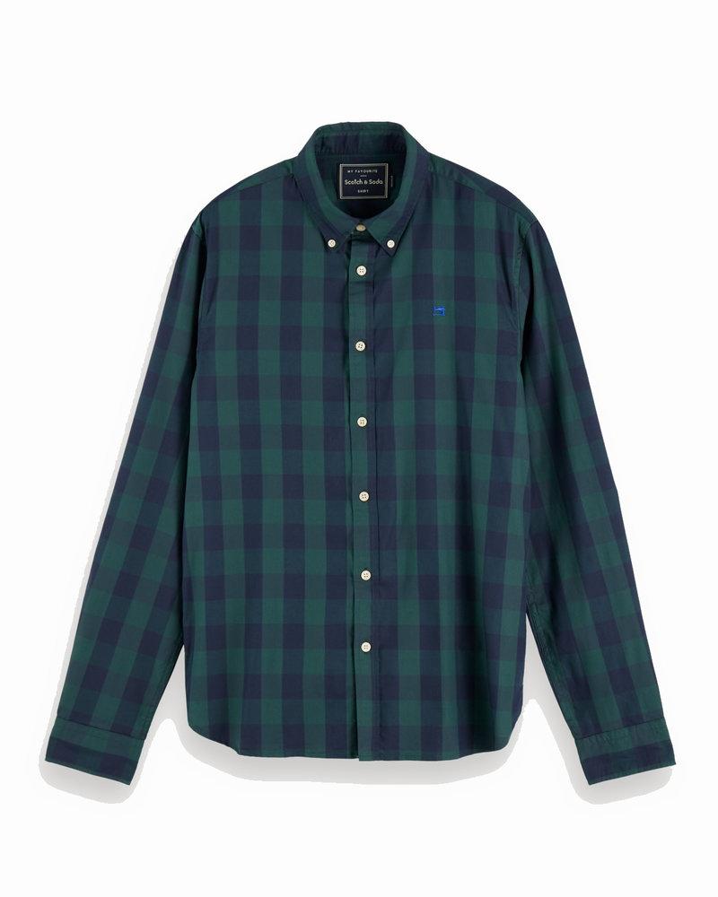 Scotch&Soda 152152 0221 Regular fit-classic bb check shirt