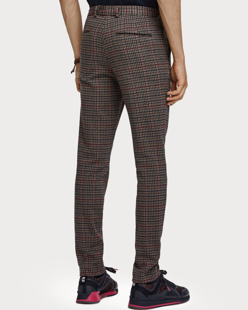 Scotch&Soda 152127 0218 MOTT- classic knitted chino in yarn dyed check pattern