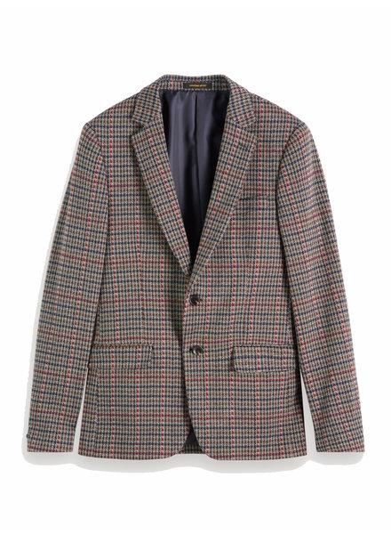 Scotch&Soda 152097 0218 Knitted blazer in yarn-dyed check pattern