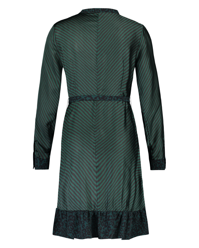 MILLA AMSTERDAM MHW19029.93 Deirdre dress petrol print