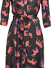 GEISHA 97811-20 Dress long 000999 black/coral combi
