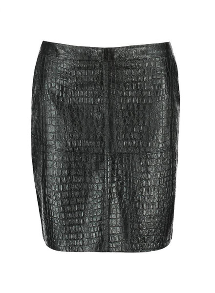 GEISHA 96855-20 Skirt croco 000999 black