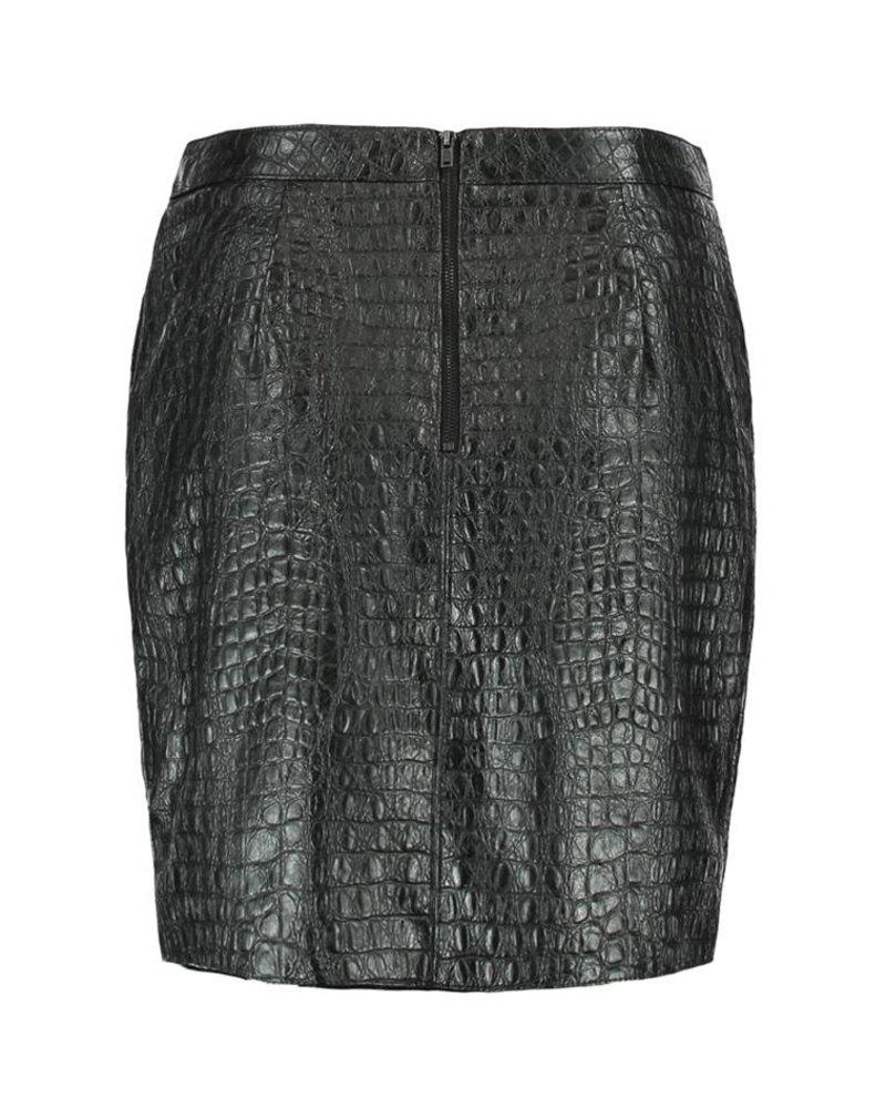 GEISHA 96855-20 Skirt croco 000999 black