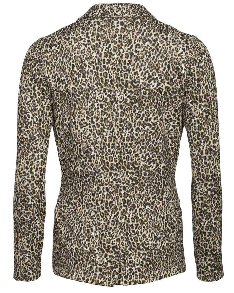 GEISHA 95555-24 Blazer jacquard leopard sand comb