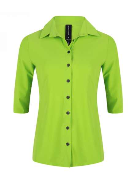 JANE LUSHKA U720SS100 Debbie shirt grass green