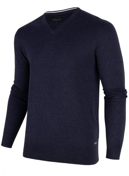 CAVALLARO 1801002 Tomasso v-neck pullover 63000