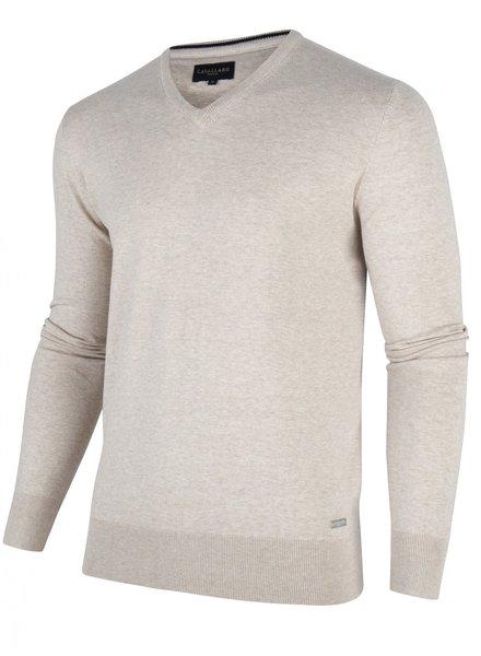 CAVALLARO 1801002 Tomasso v-neck pullover 20000