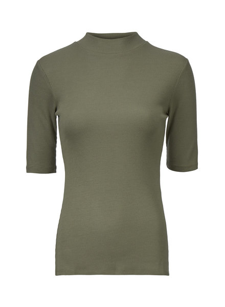 MODSTRÖM 51570 Krown t-shirt Dark Khaki