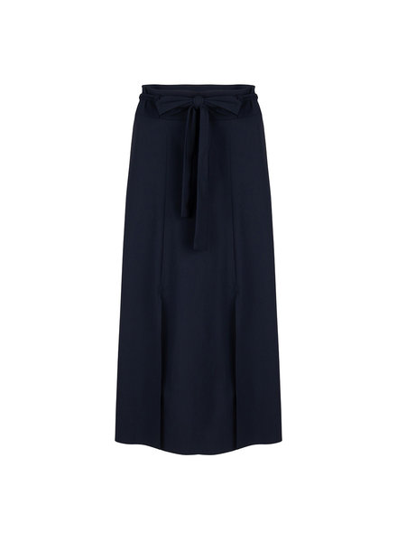 JANE LUSHKA U520SS350 Belle midi skirt blue