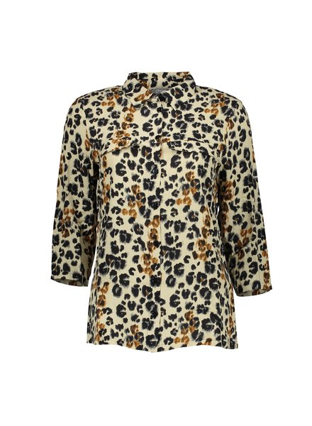 GEISHA 03039-42 Blouse AOP leopard l/s 000715