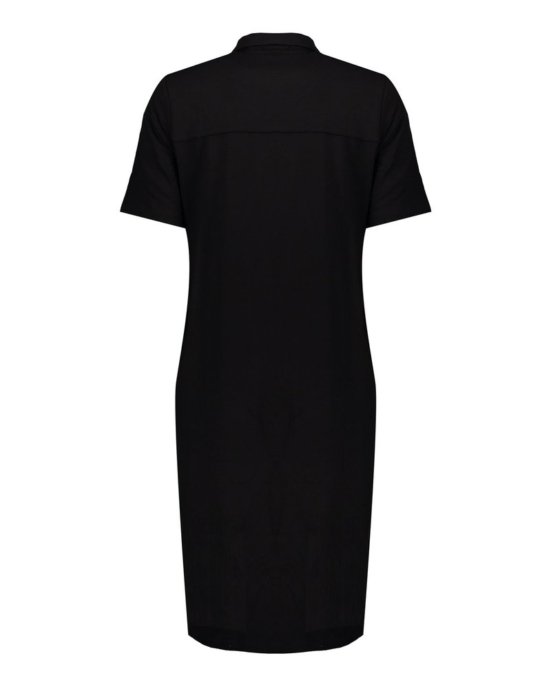GEISHA 07044-60 ANN SOLID Dress solid with collar s/s 000999