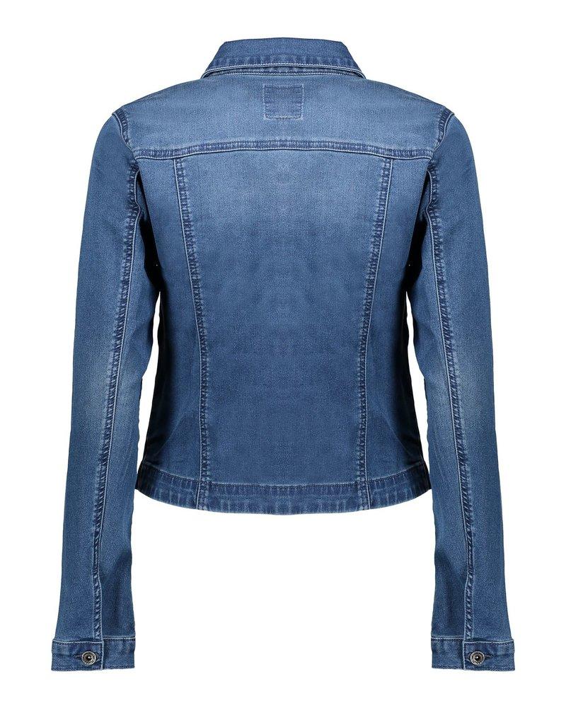 GEISHA 05012-10 Jacket denim l/s & front pockets 000810